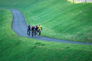team fietsen in italie